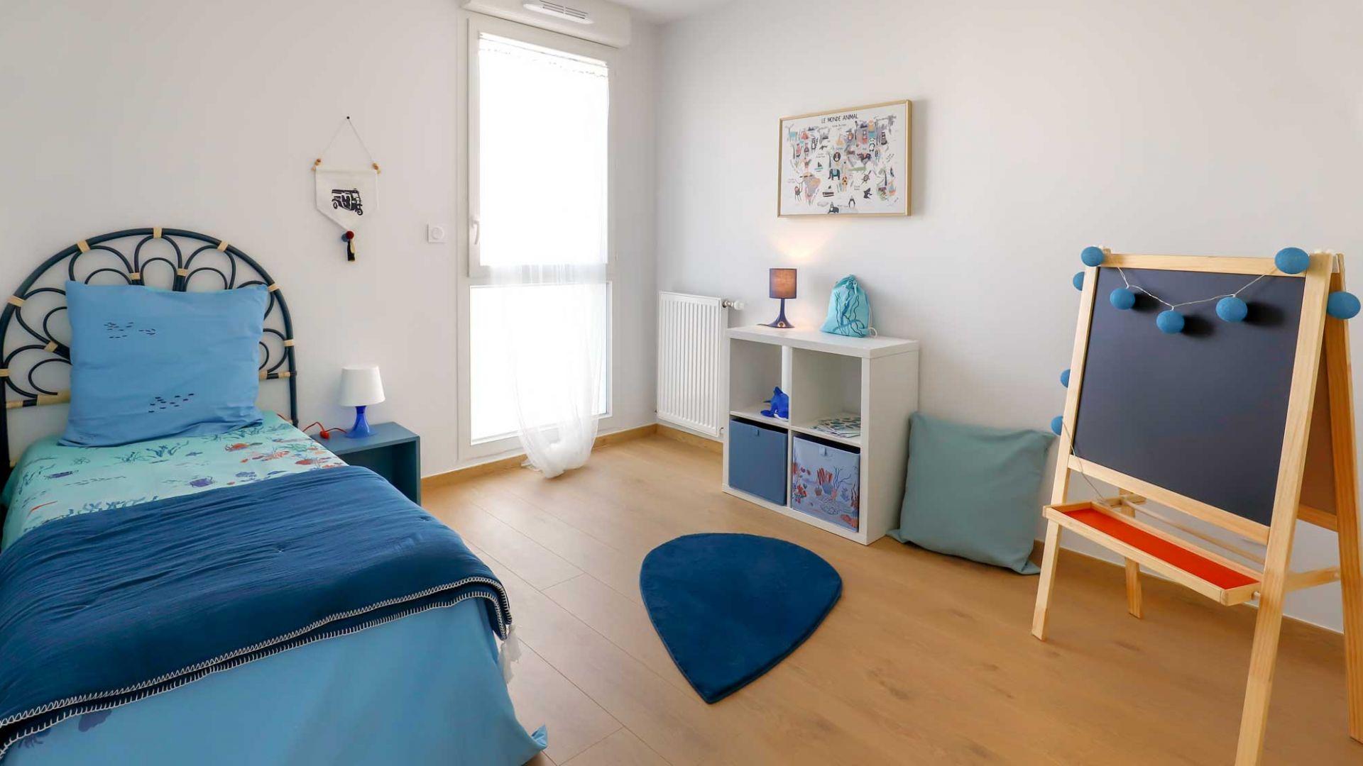 GreenCity immobilier - Blagnac-Beauzelle - 31700 - LB47 - villa T5 - chambre enfant