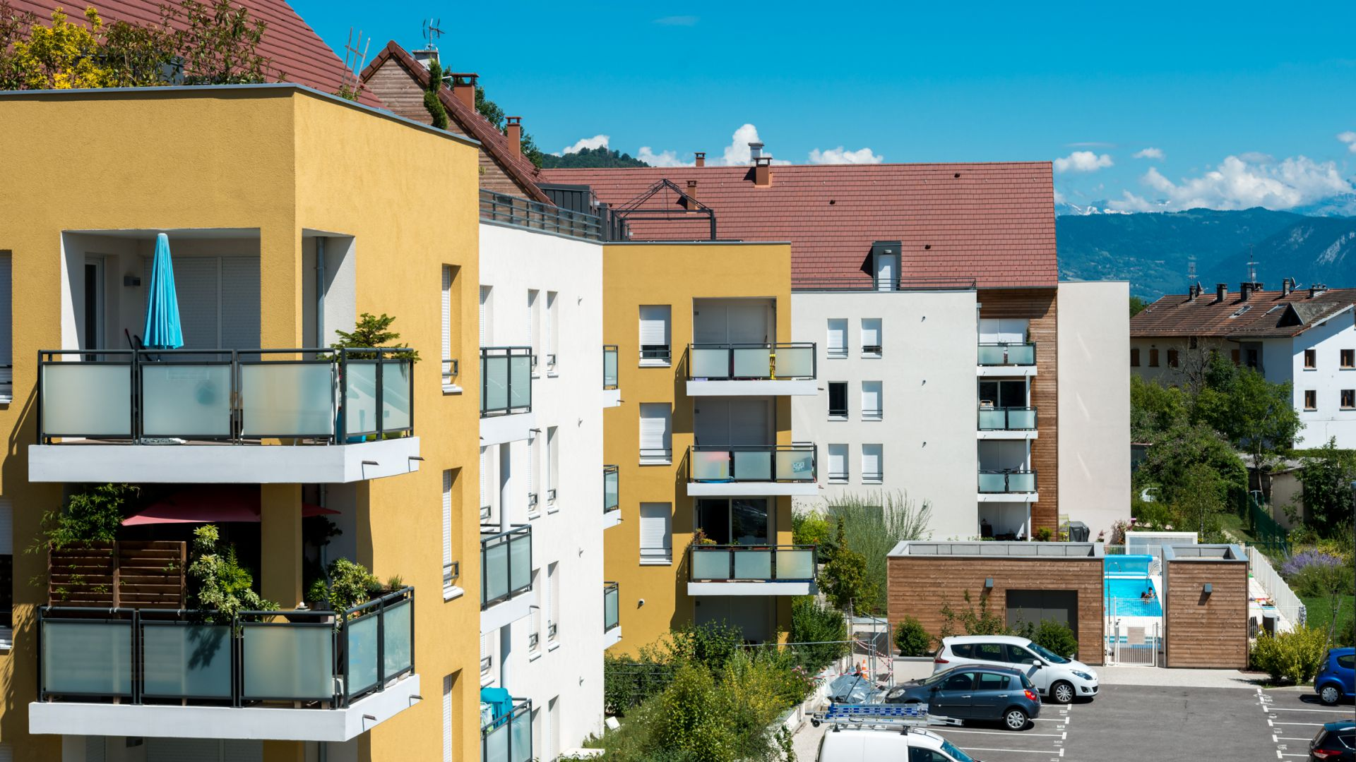Greencity Immobilier - Résidence Le Beauregard - 74130 Bonneville - Location
