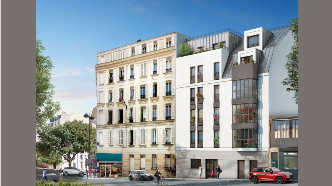 Greencity Immobilier - Le Belleville - Paris 75020