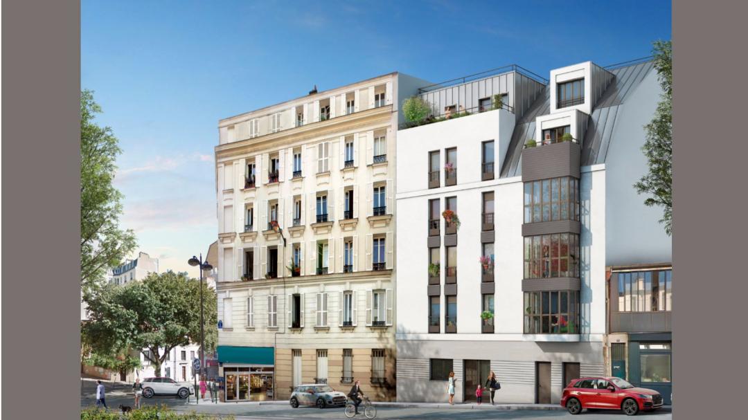 Greencity Immobilier - Le Belleville - Paris 75020