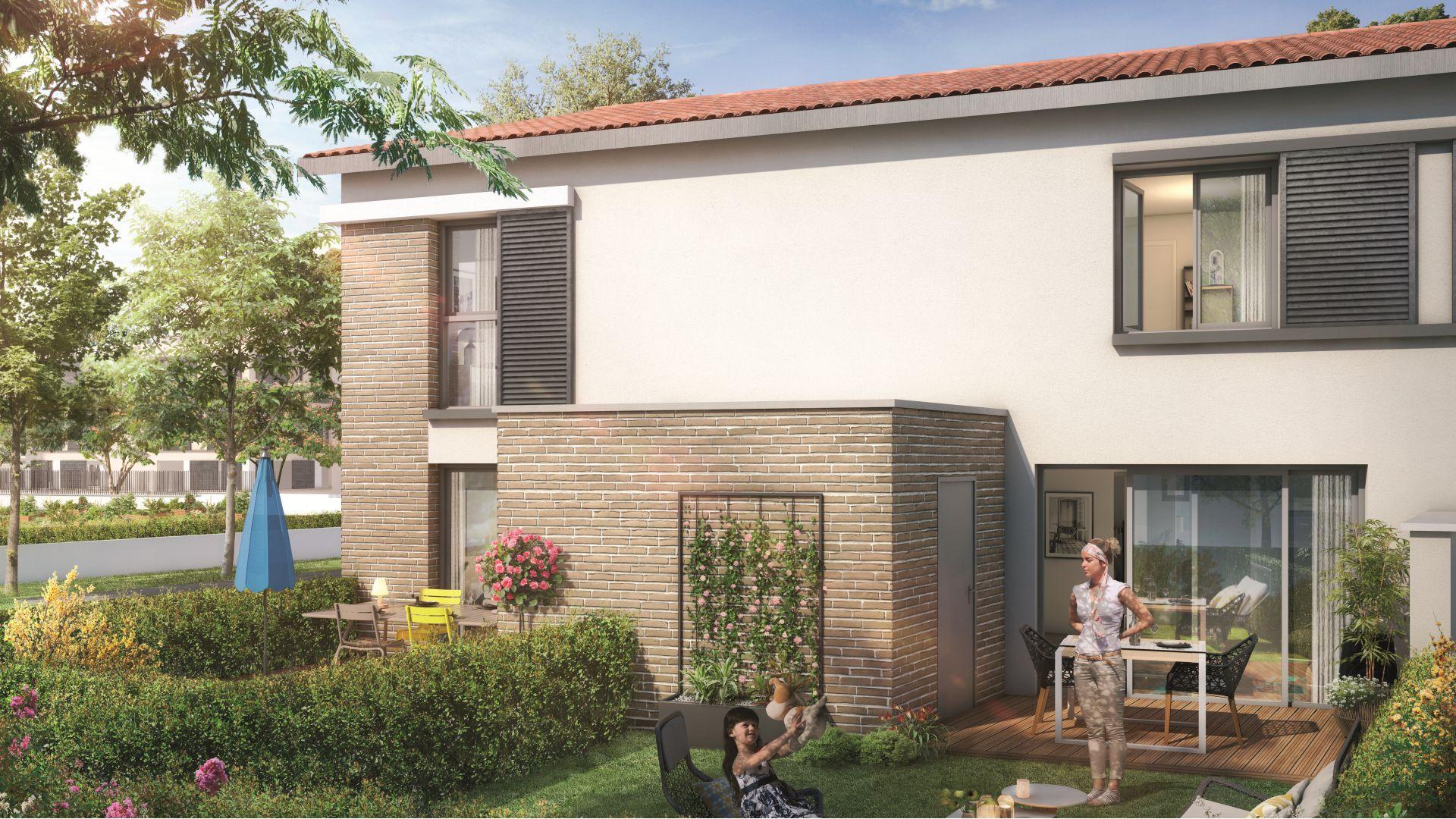 Greencity Immobilier - Le Bogey - Toulouse Saint-Simon 31100 Villa T4