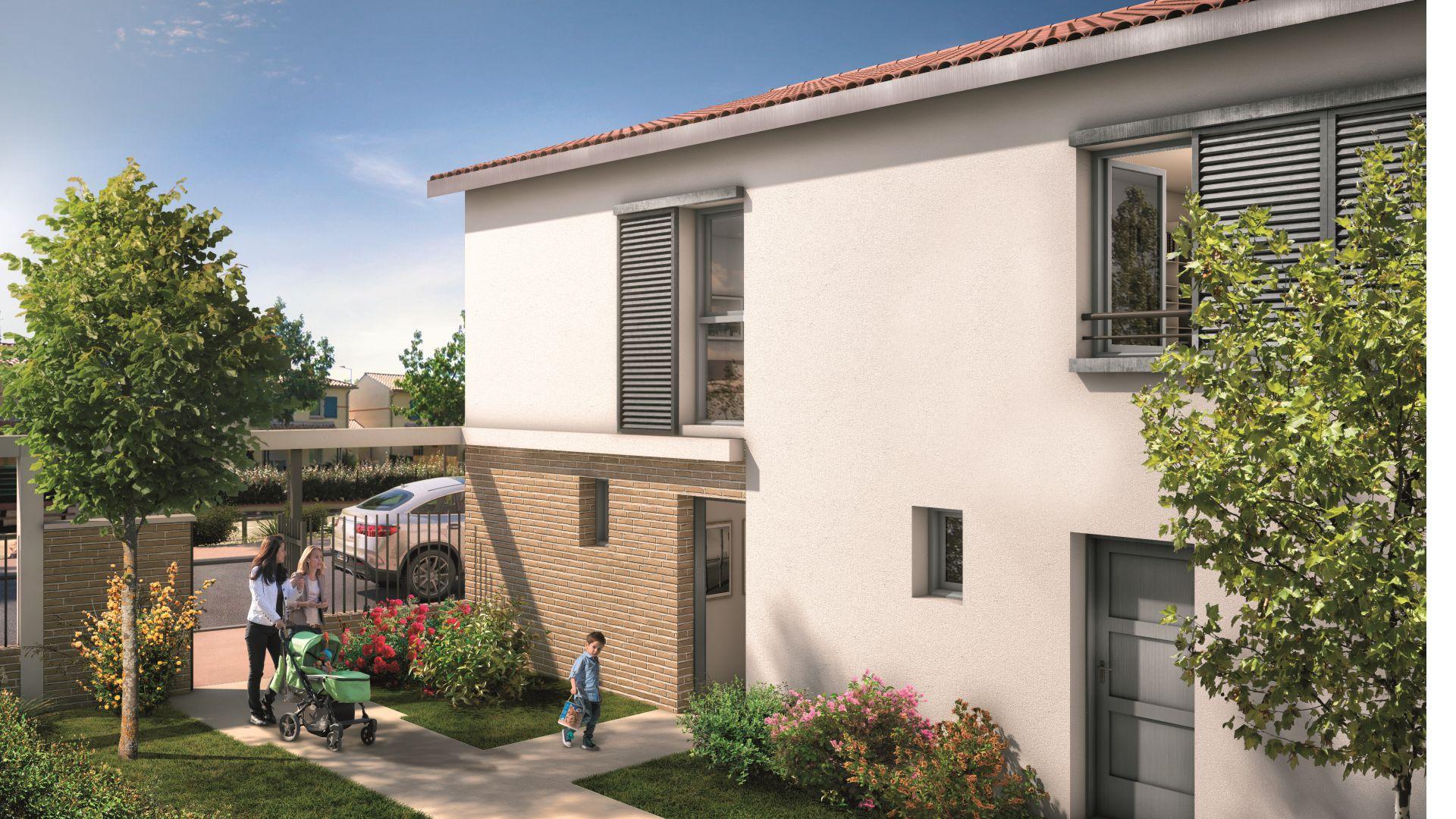 Greencity Immobilier - Le Bogey - Toulouse Saint-Simon 31100 Villa T3