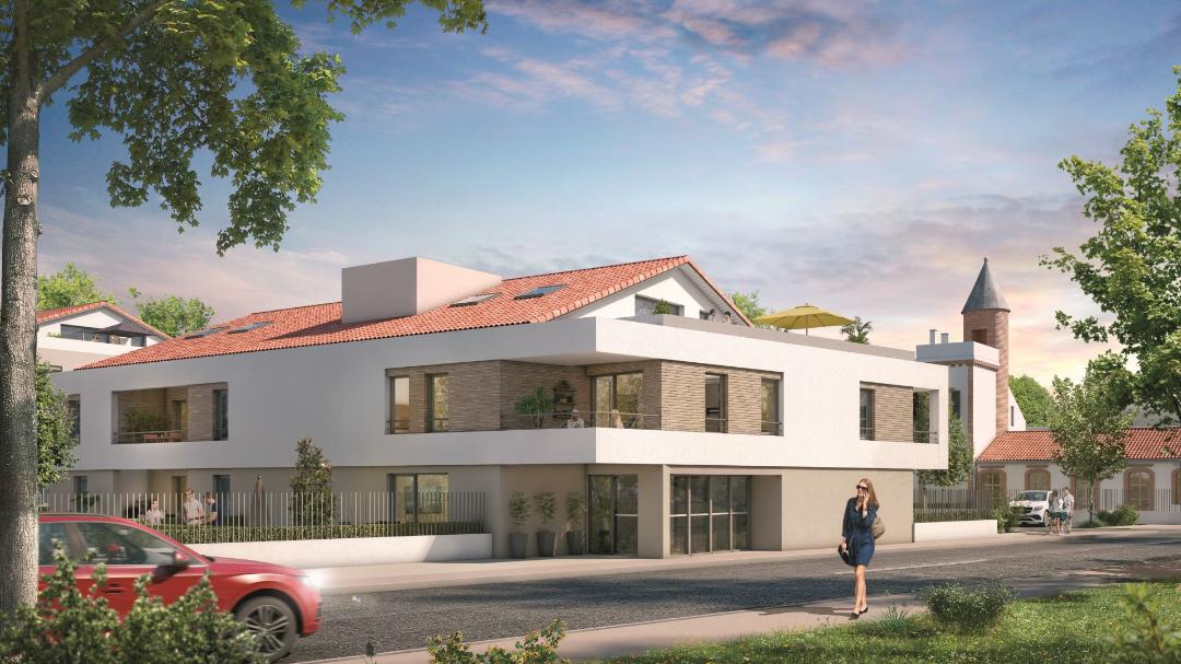 Greencity Immobilier - Le Bogey - Toulouse Saint-Simon - Appartements du T1 au T4