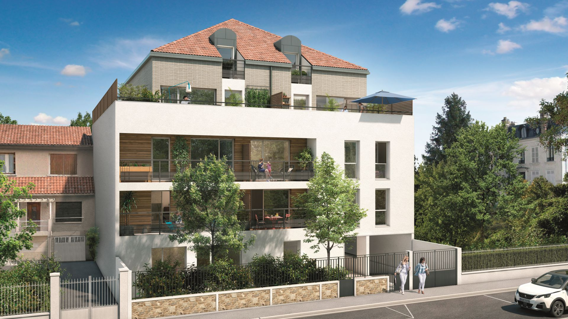 GreenCity immobilier - Livry-Gargan - 93190 - appartements du T1Bis au T3 Duplex