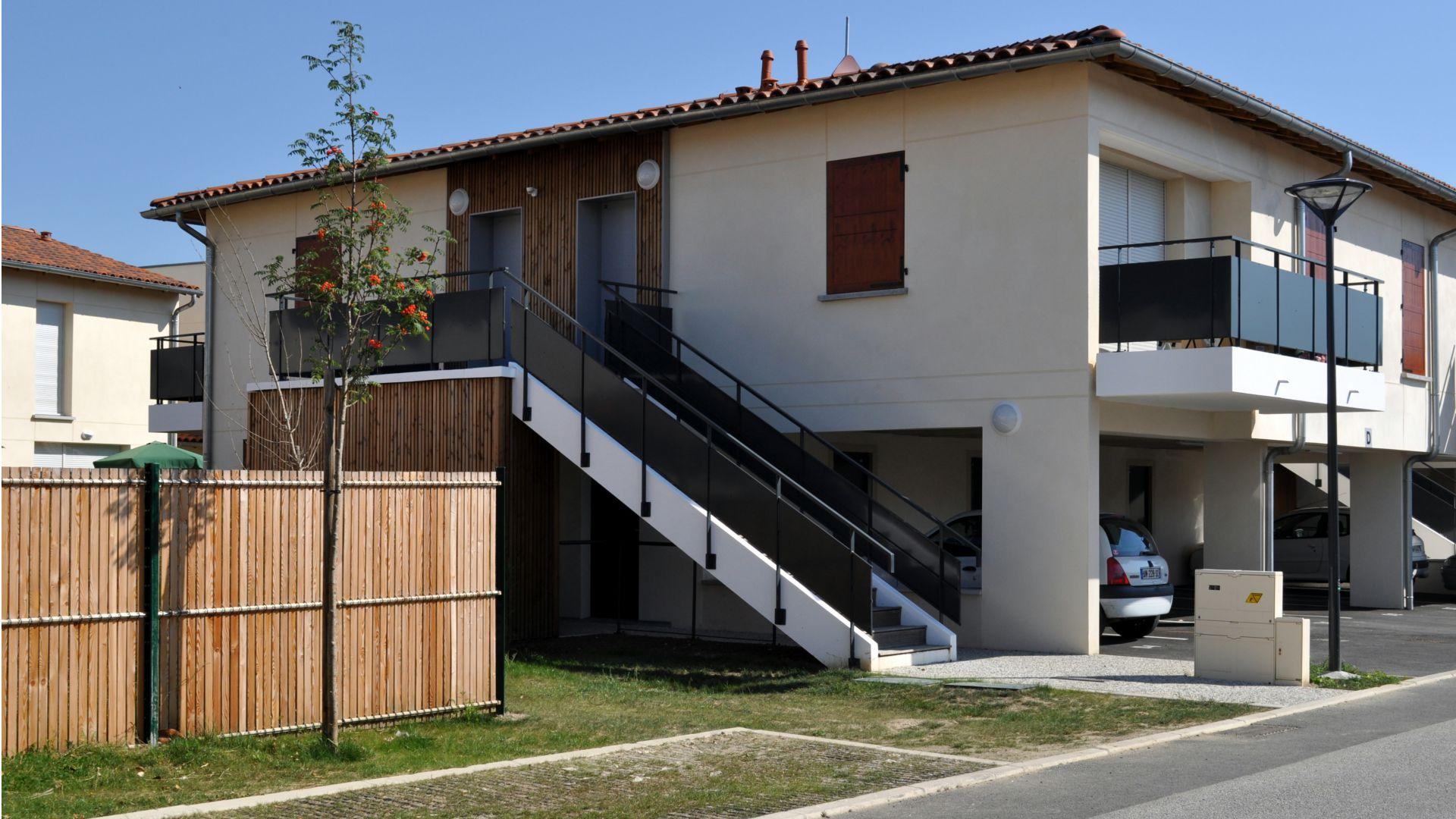 Greencity Immobilier - Le Clos Amandine - 31270- Cugnaux - location appartements et villa