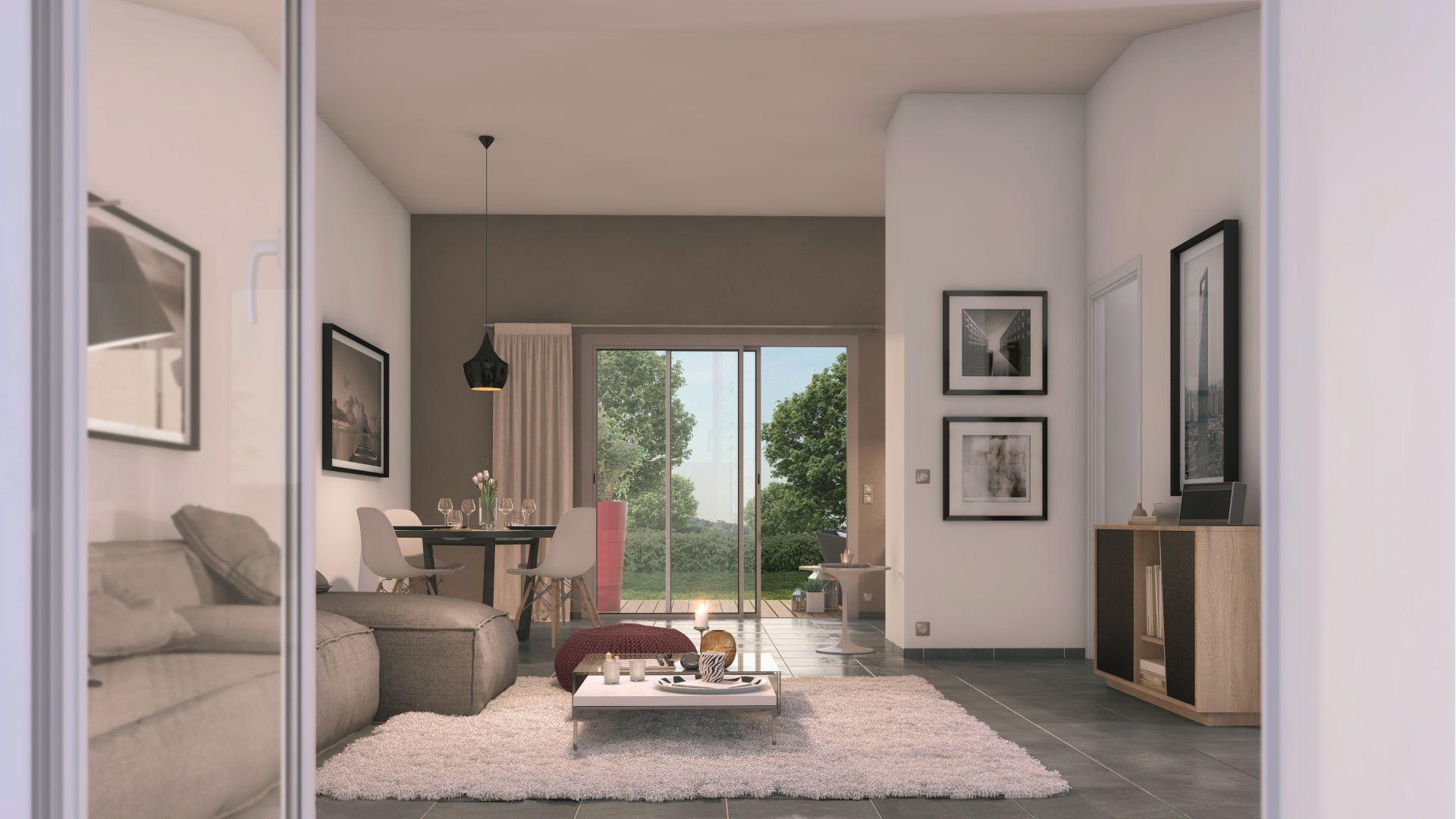 Greencity Immobilier - Cornebarrieu - Le Clos D'Agate - Villa T4 intérieur