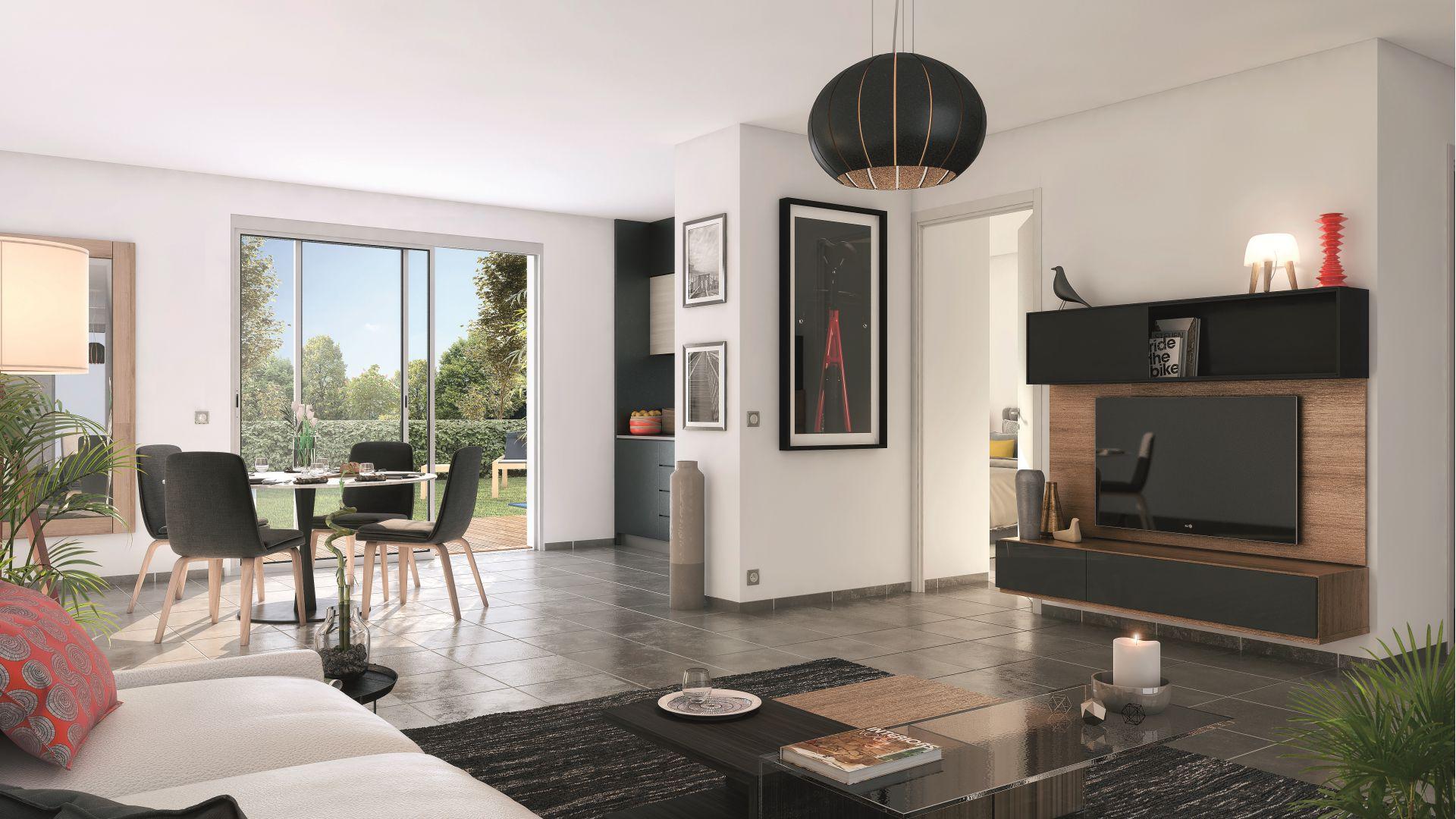 Greencity Immobilier - Cornebarrieu - Le Clos D'Agate - Villa T5 intérieur