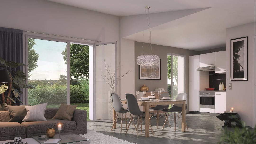 Greencity Immobilier - Cornebarrieu - Le Clos D'Agate - Villa T3 intérieur