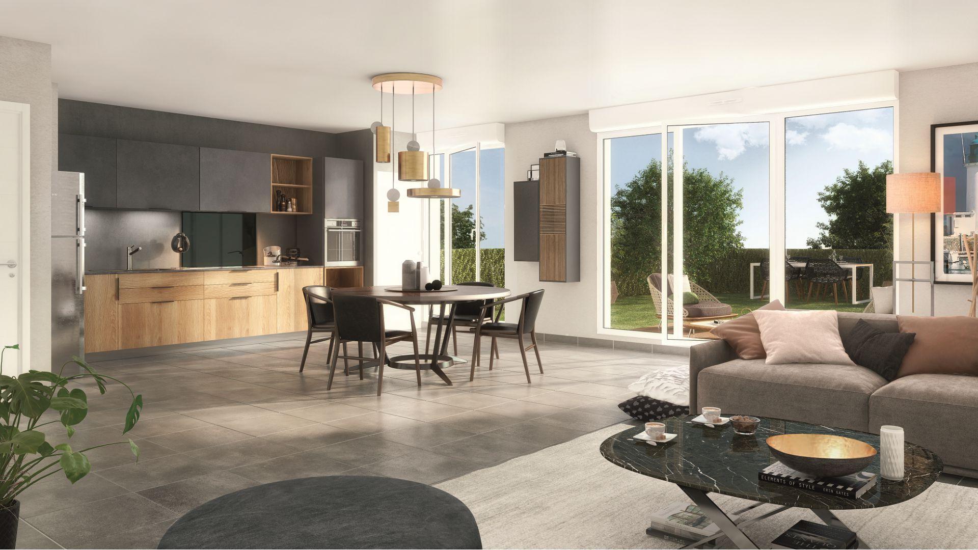 GreenCity immobilier - La Rochelle - Chatelaillon plage - Le Clos D Antoine - 17340 intérieur villa T4