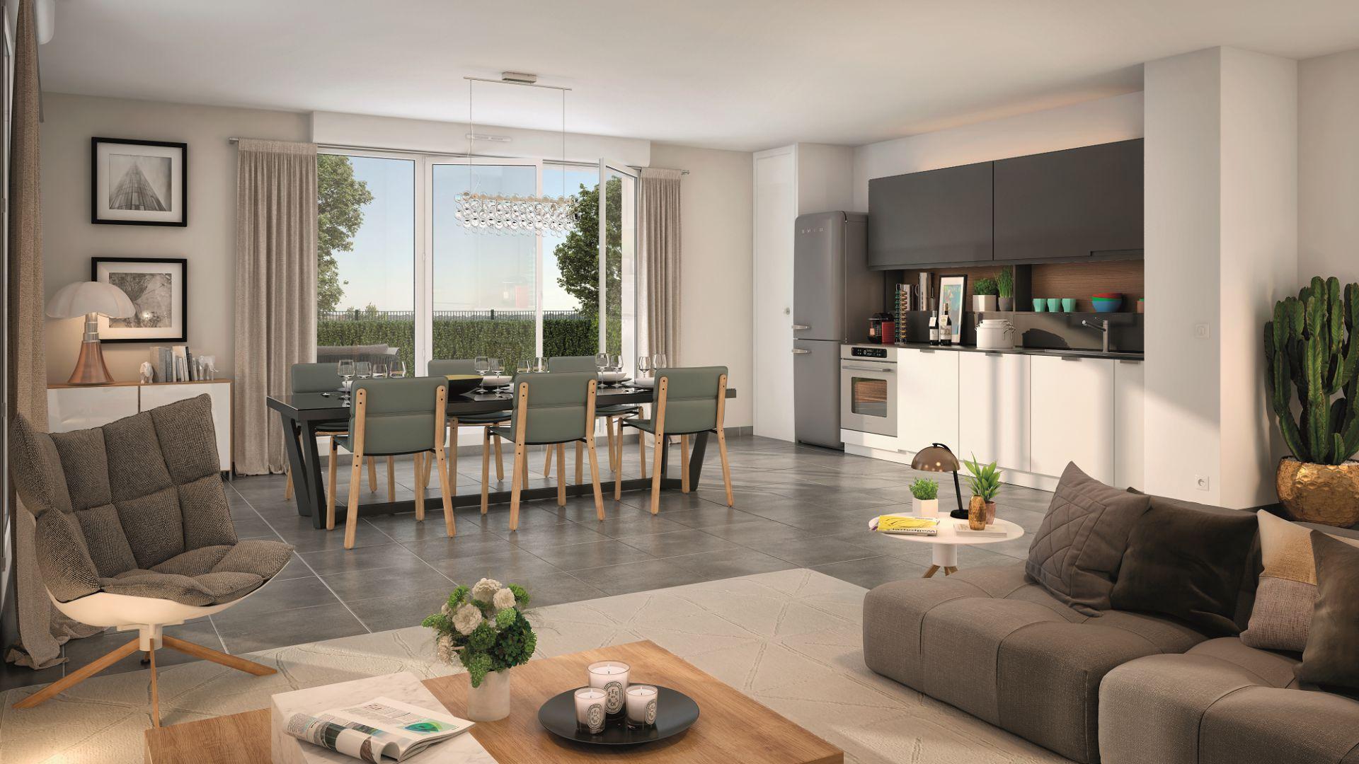GreenCity immobilier - La Rochelle - Chatelaillon plage - Le Clos D Antoine - intérieur villa T5