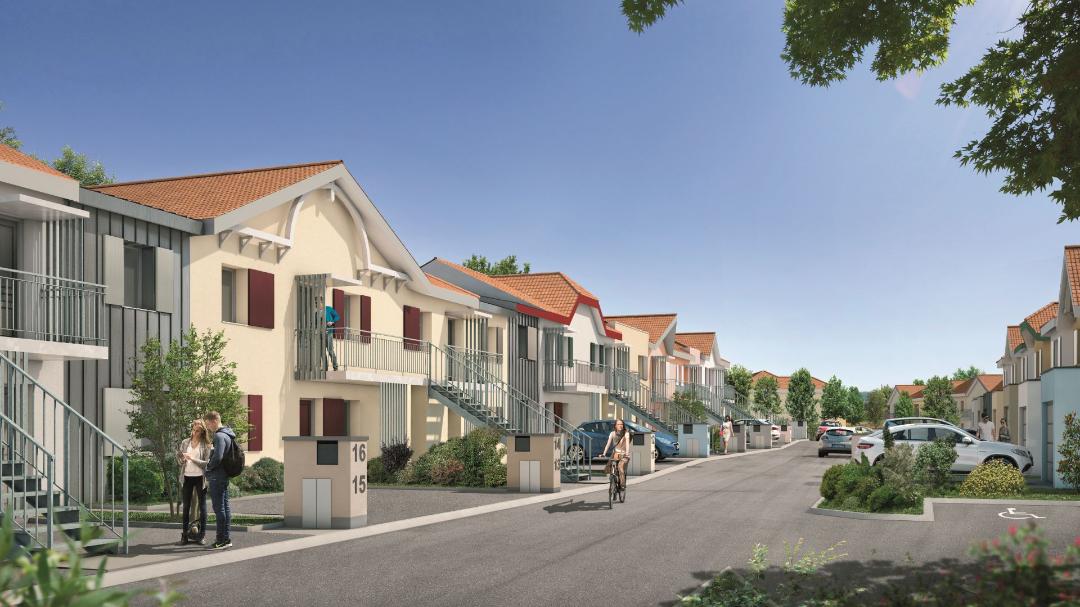 GreenCity immobilier - La Rochelle - Chatelaillon plage - Le Clos Des Cordées - appartements et villas du T2 au T5