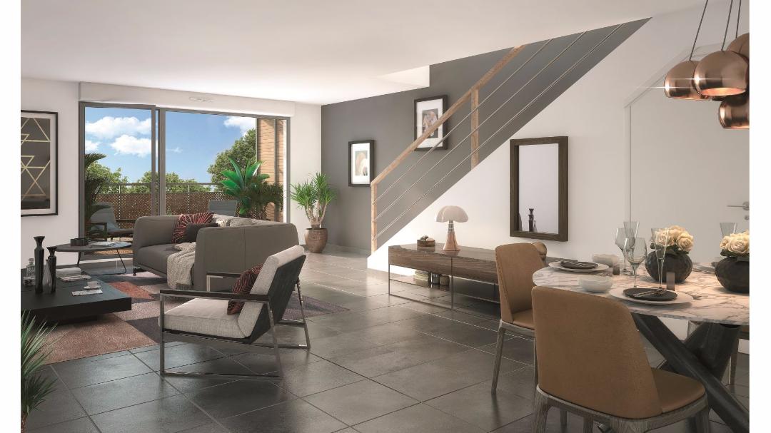 Greencity Immobilier - Le Clos de L'Hermitage - Toulouse - 31100- intérieur
