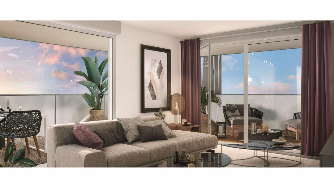 Greencity Immobilier - Le Clos des Lilas - Saint-Alban-31140 - terrasse