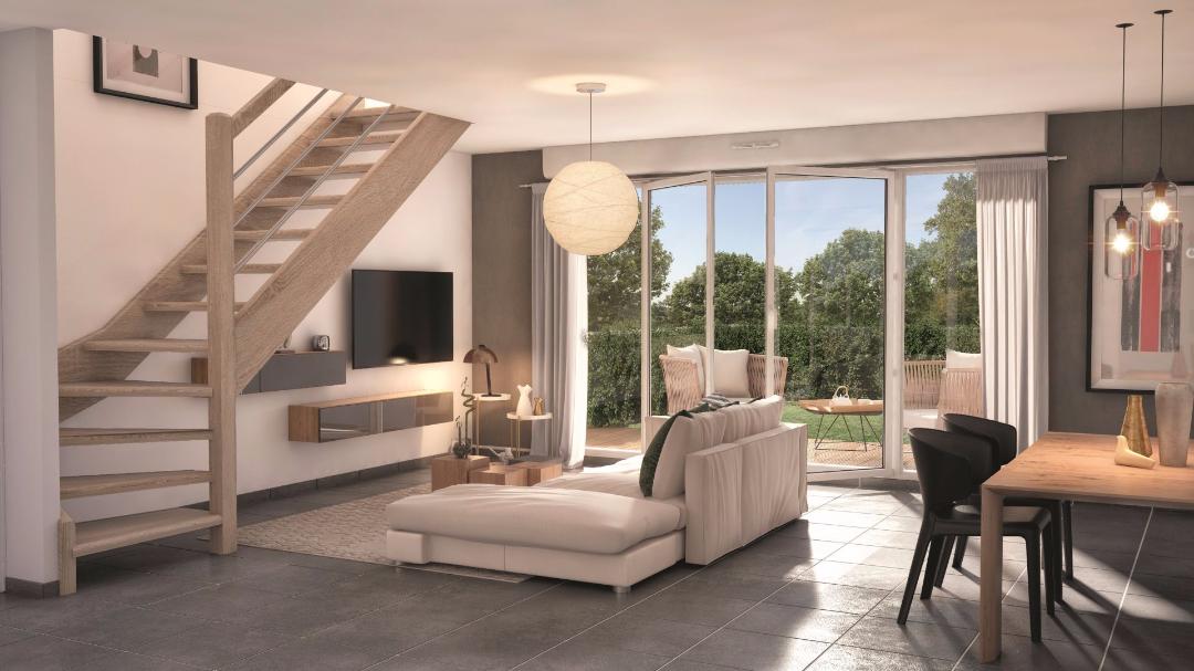 Greencity Immobilier - Le Clos D'Iris - Saint-Jory - 31790 - intérieur