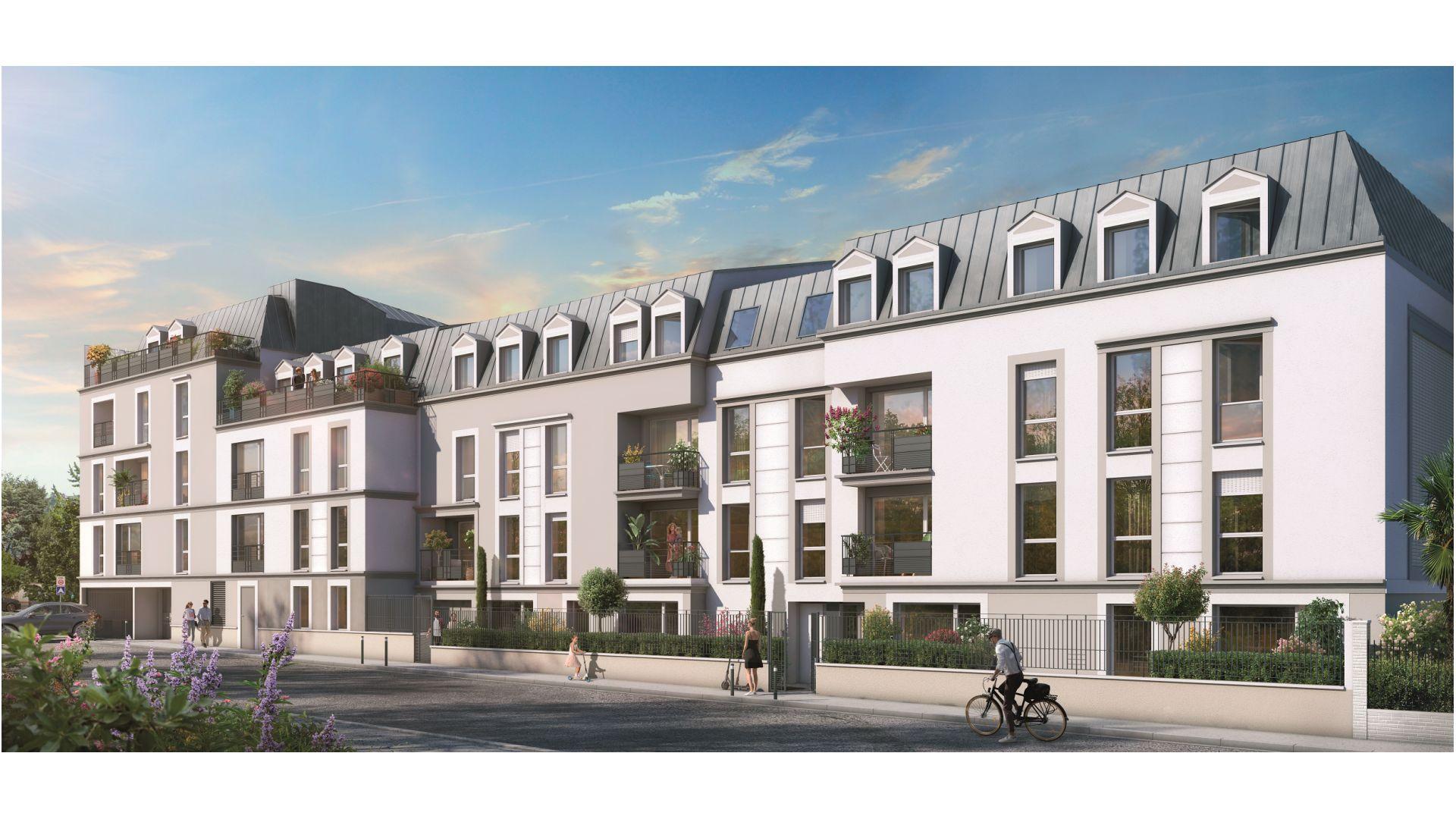 Greencity Immobilier - Résidence Le Fantasio - achat appartements du T1 au T3 - Savigny-sur-Orge 91600