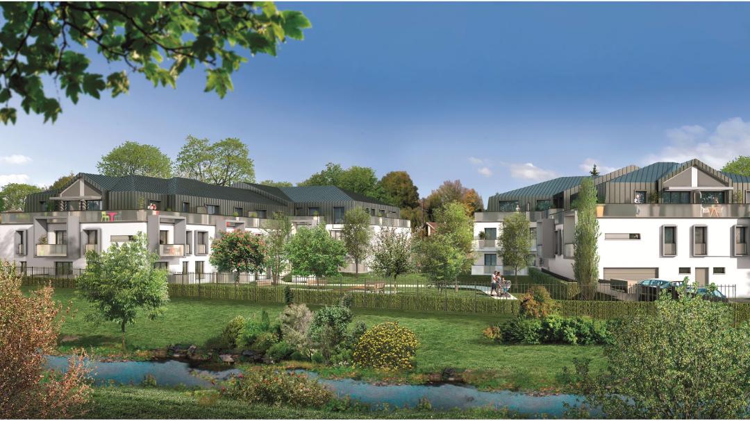 Greencity Immobilier - Le Flaubert - Cesson - 77240