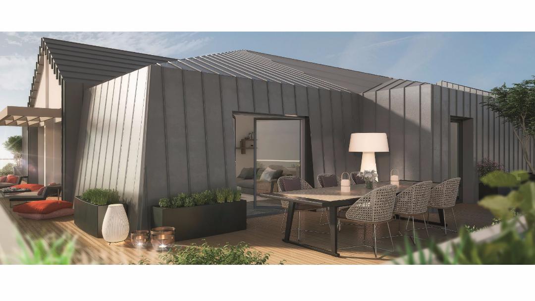 Greencity Immobilier - Le Flaubert - Cesson - 77240 - terrasse