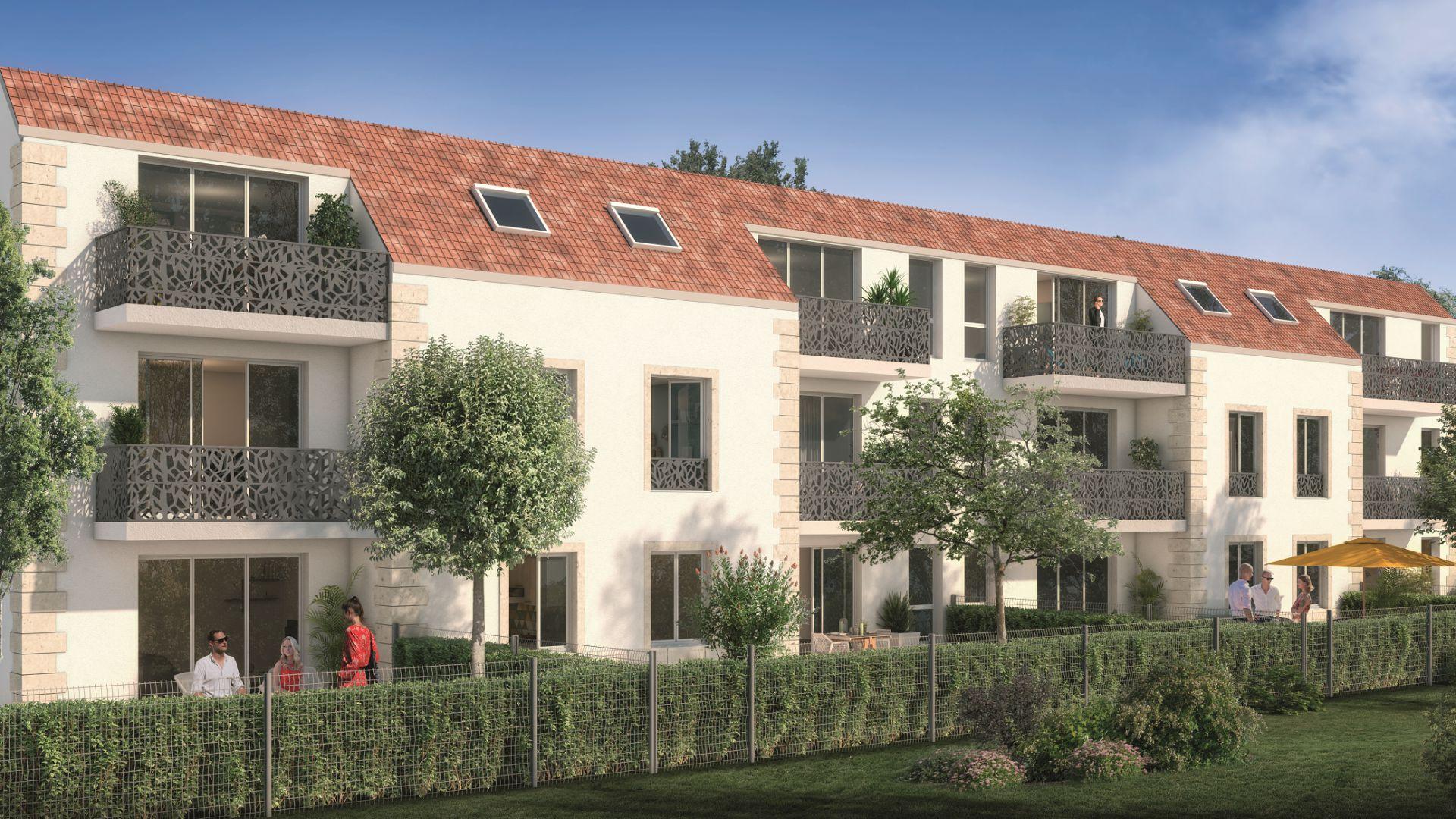 GreenCity immobilier - Vert-Le-Petit - 91710 - résidence Le Green Val - appartements neufs T2 - T3 - T4