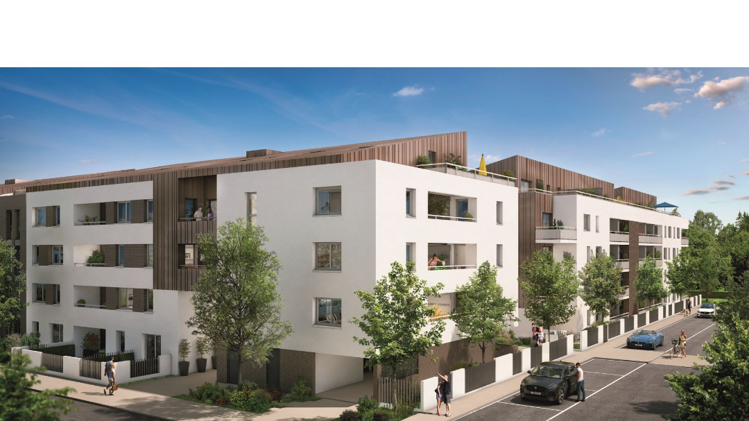 GreenCity immobilier - 31400 Toulouse Montaudran - Le GreenGarden - appartements du T1 au T4