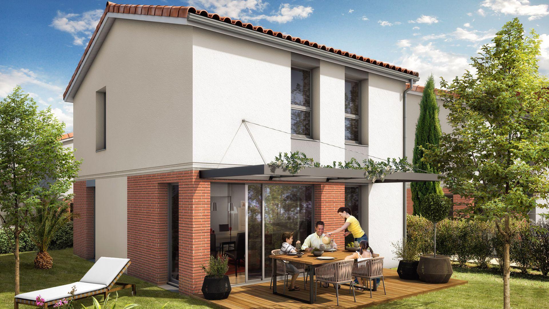 Le hameau de l 39 union green city immobilier - Union des constructeurs immobiliers ...