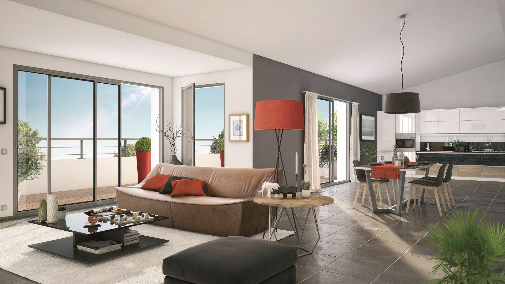 GreenCity Immobilier - Toulouse Brienne - Le Patio de Brienne - Intérieur