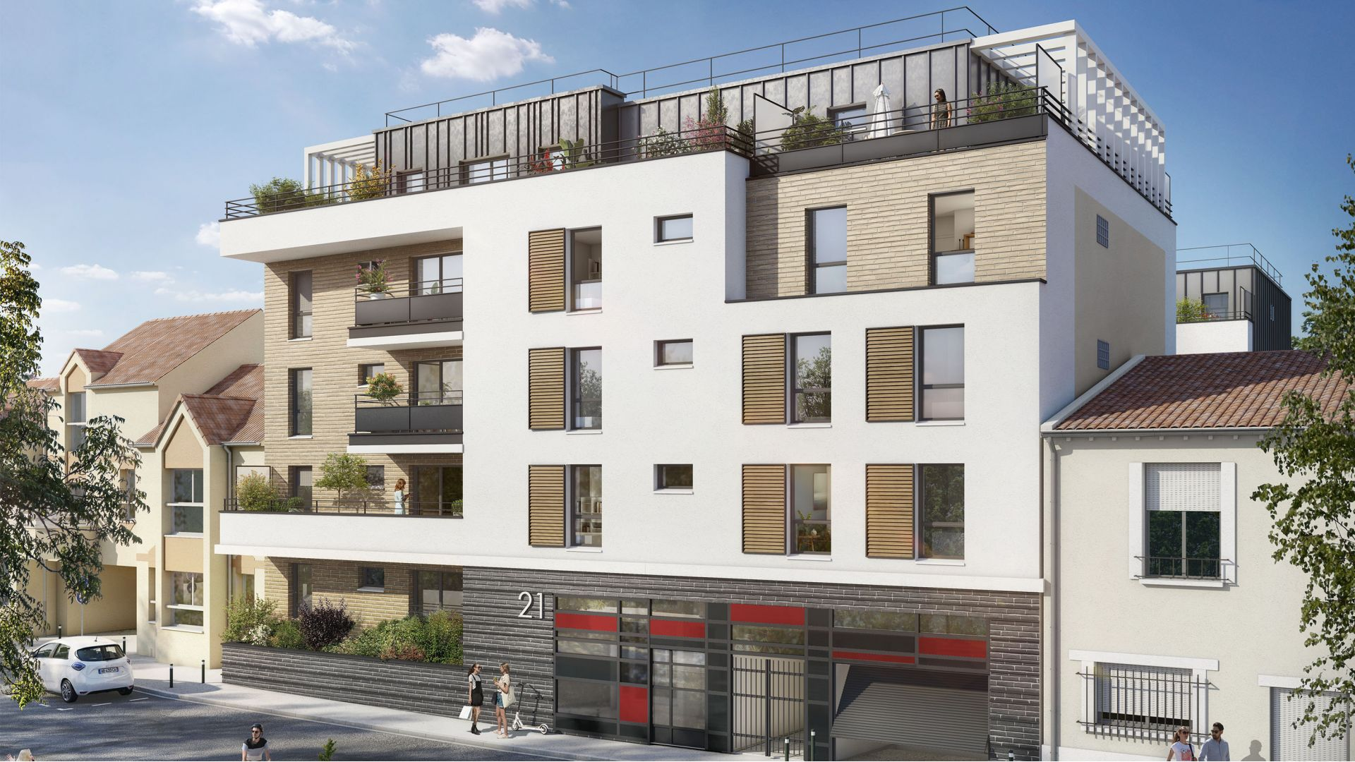 Greencity Immobilier - Résidence Le Régent - achat appartements du T1au T4 - Bagnolet 93170