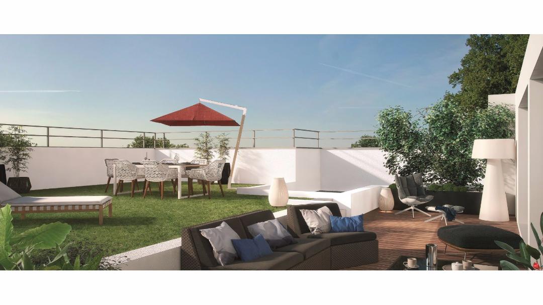 Greencity Immobilier - Le Riviéra - Chennevières sur Marne - 94430 - terrasse