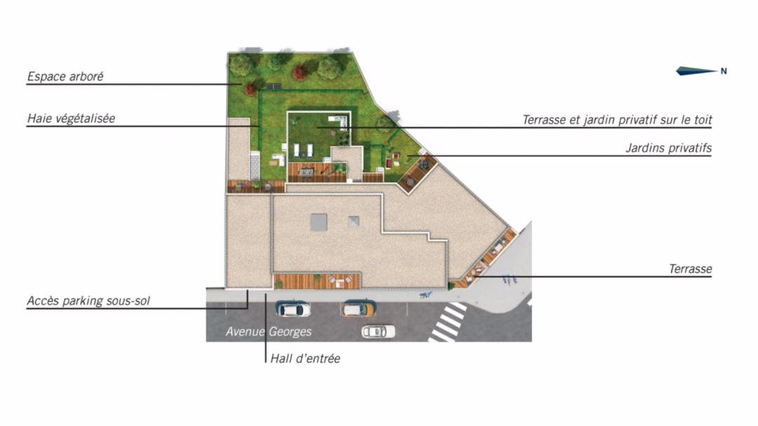 Greencity Immobilier - Le Riviéra - Chennevières sur Marne - 94430 - plan de masse
