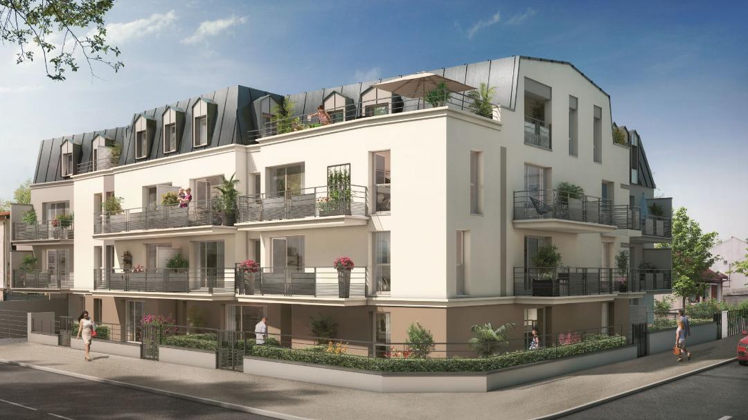 Greencity immobilier - Savigny sur Orge 91600 - résidence Le Savini - appartements du T1 au T4 - vue rue