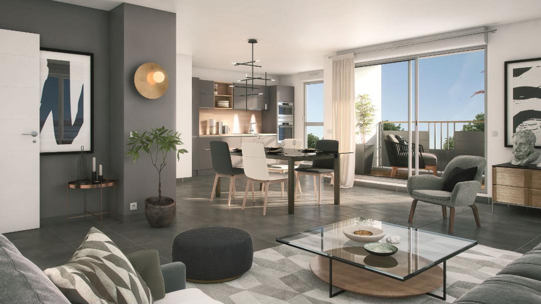 Greencity immobilier - Savigny sur Orge 91600 - résidence Le Savini - appartements du T1 au T4 - vue intérieur