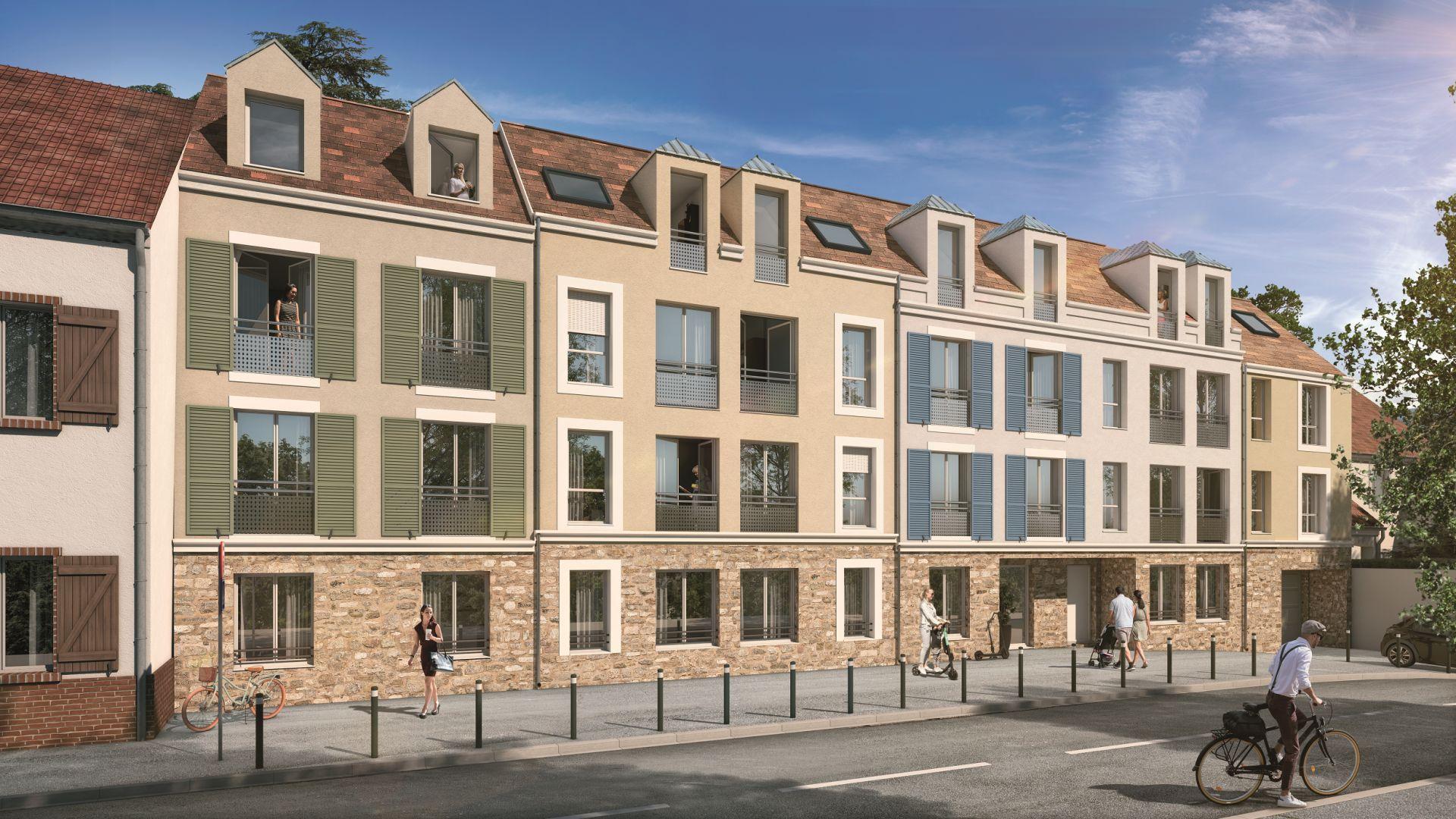 Greencity Immobilier - Le Sisley - achat appartements du T2 au T4 - Pontault-Combault 77340