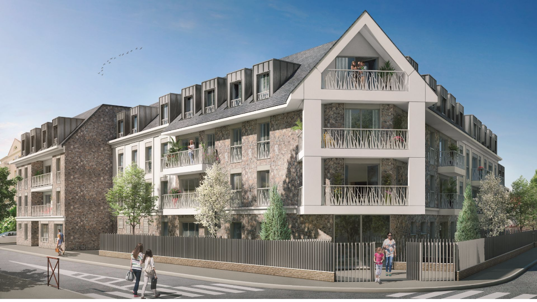 Greencity Immobilier - Le Victoria - Beauchamps - 95250