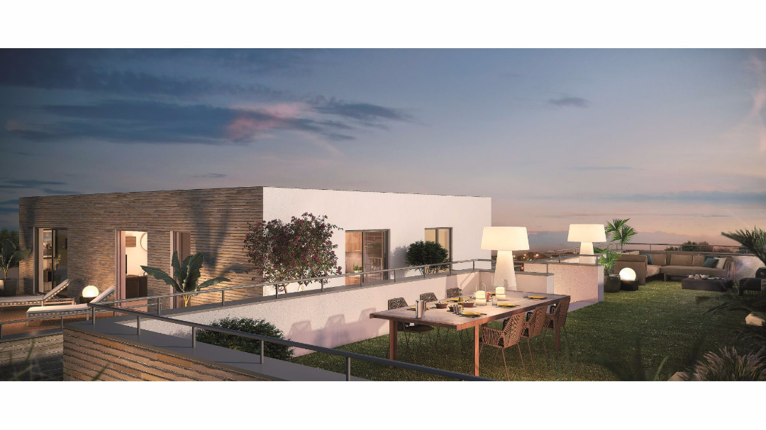 Greencity Immobilier - L'Eleven - Saint-Martin du Touch - terrasse