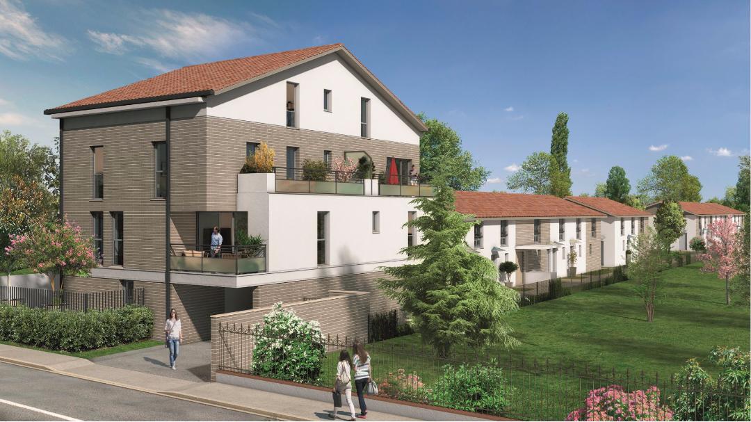 Greencity Immobilier - Les Allées du Moulin - Toulouse - 31300