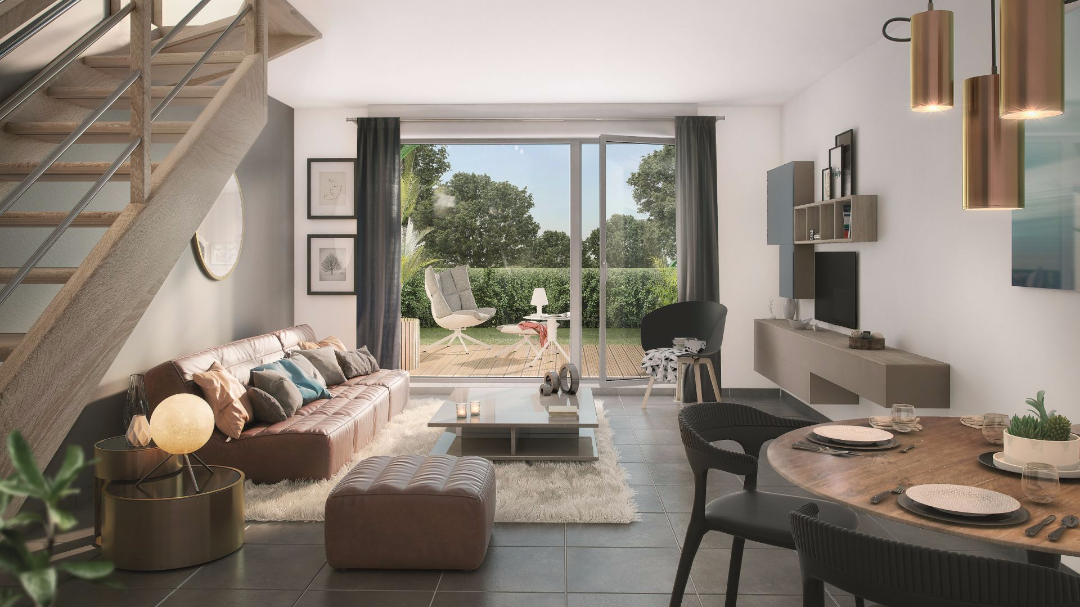 Greencity Immobilier - Les Allées du Moulin - Toulouse - 31300  - intérieur