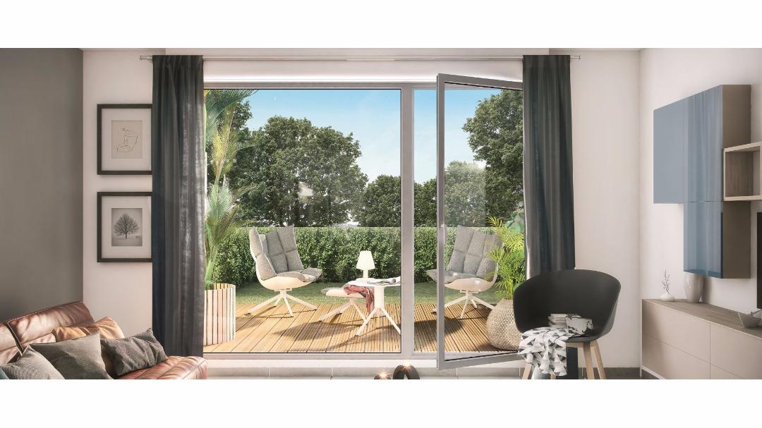Greencity Immobilier - Les Allées du Moulin - Toulouse - 31300 - terrasse