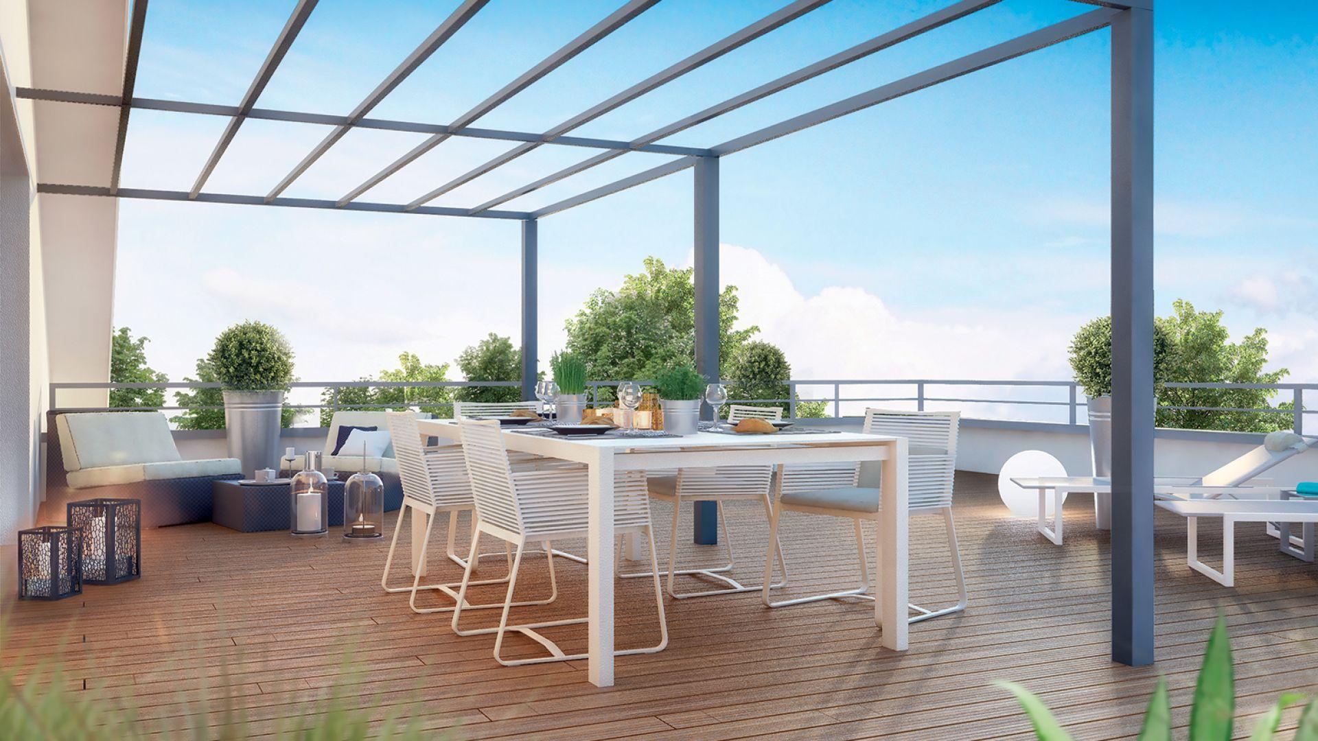 Les balcons du midi green city immobilier for Terrasse et cie immobilier