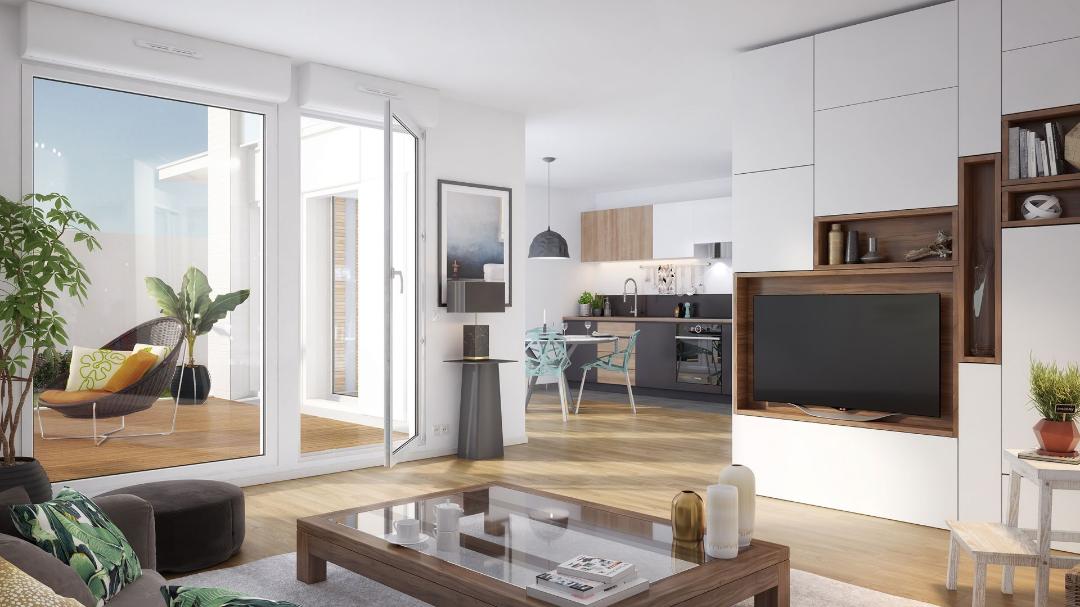 GreenCity immobilier - Les Jardins D'Icare - Courbevoie - 92400 - intérieur