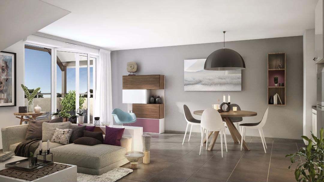 GreenCity Immobilier - Les Portes du Soleil - Fenouillet 31150 - vue intérieure
