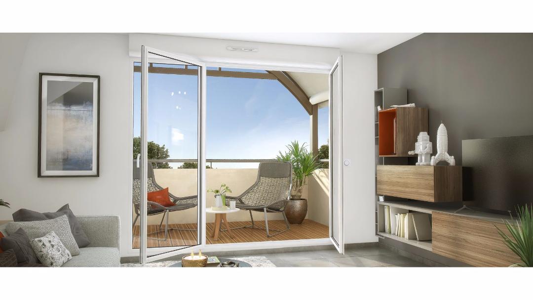 GreenCity Immobilier - Les Portes du Soleil - Fenouillet 31150 - terrasse