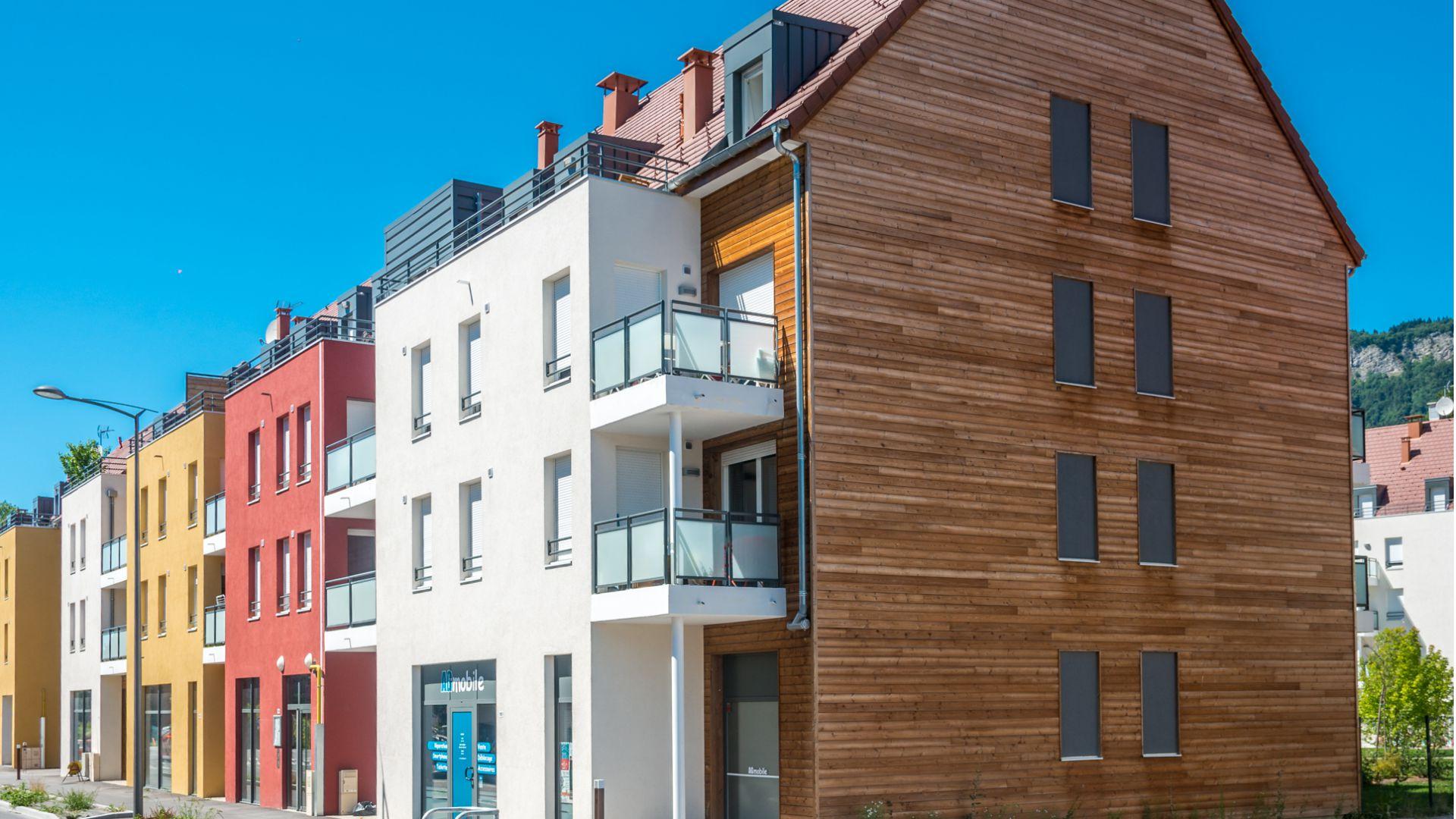 Greencity Immobilier - Résidence Les Terrasses des Glières - 74130 Bonneville - Location