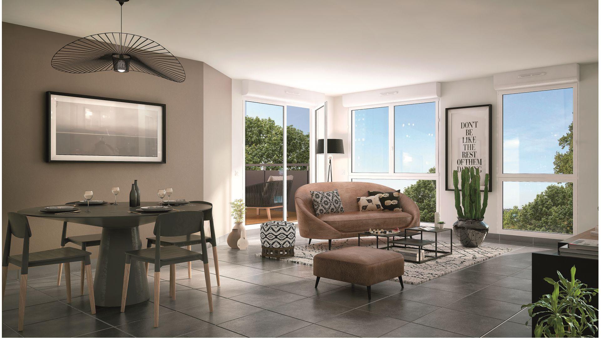 GreenCity Immobilier - pavillon Néo - Toulouse (31200) intérieur