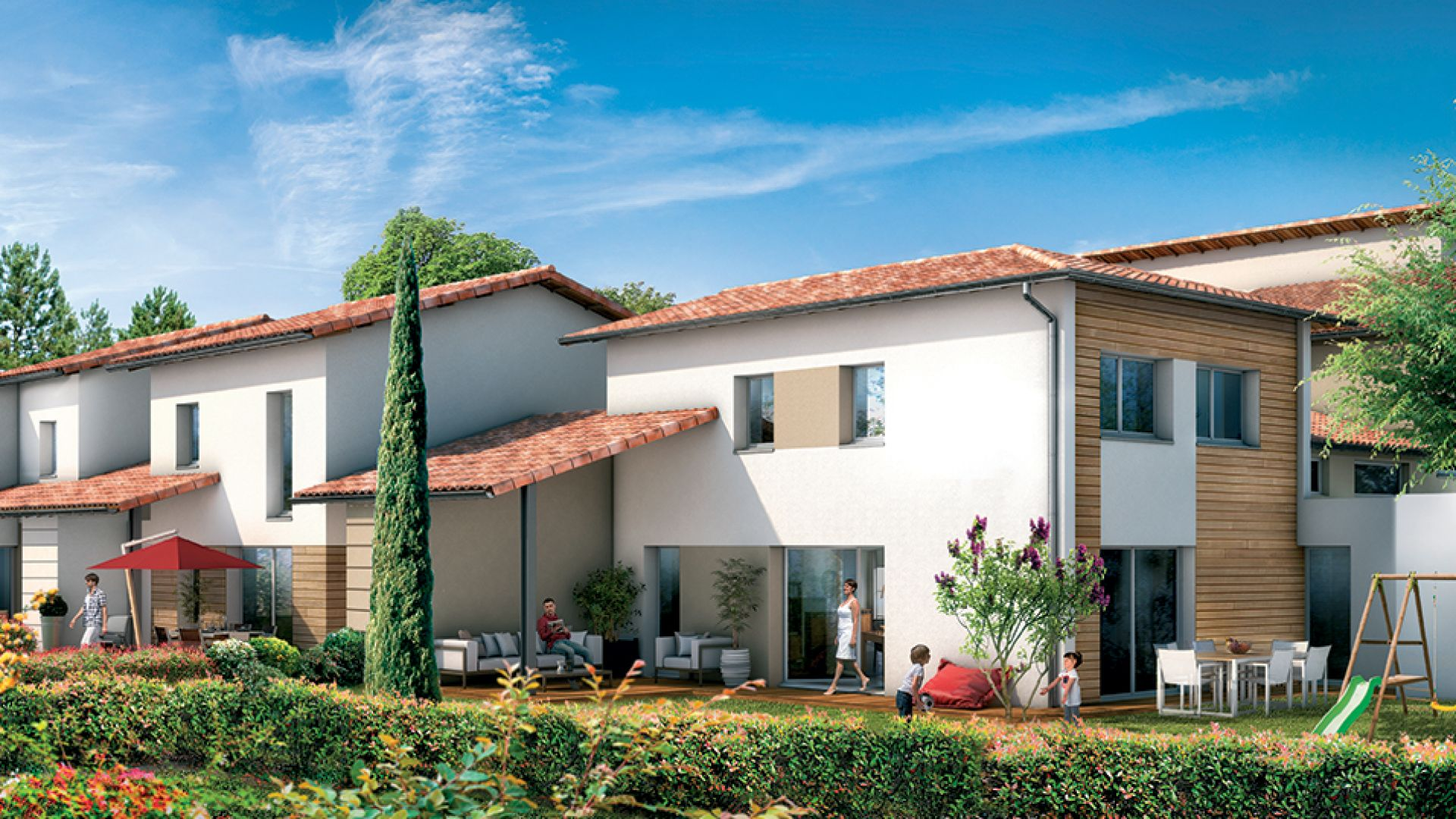 Residence cote canal 2 green city immobilier for Residence immobilier