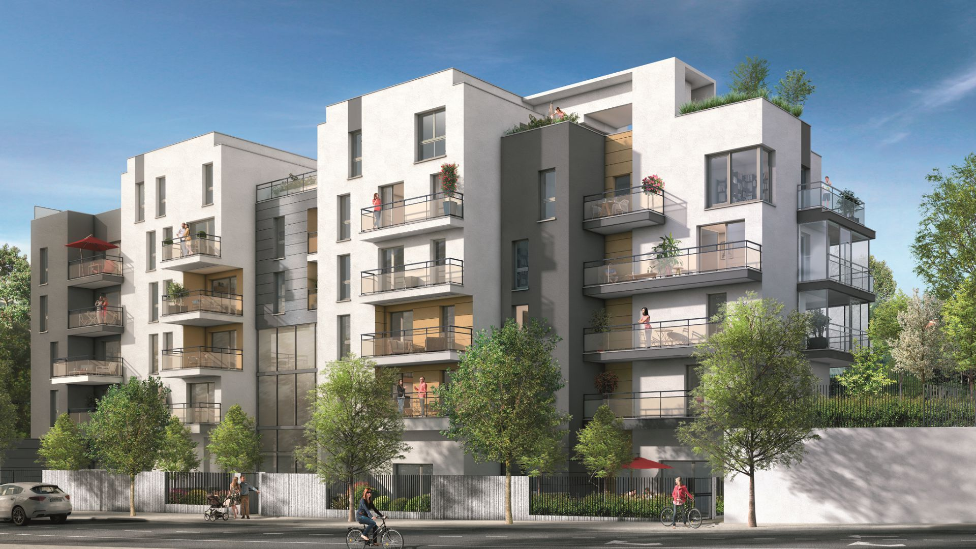 Residence gabriel green city immobilier for Residence immobilier