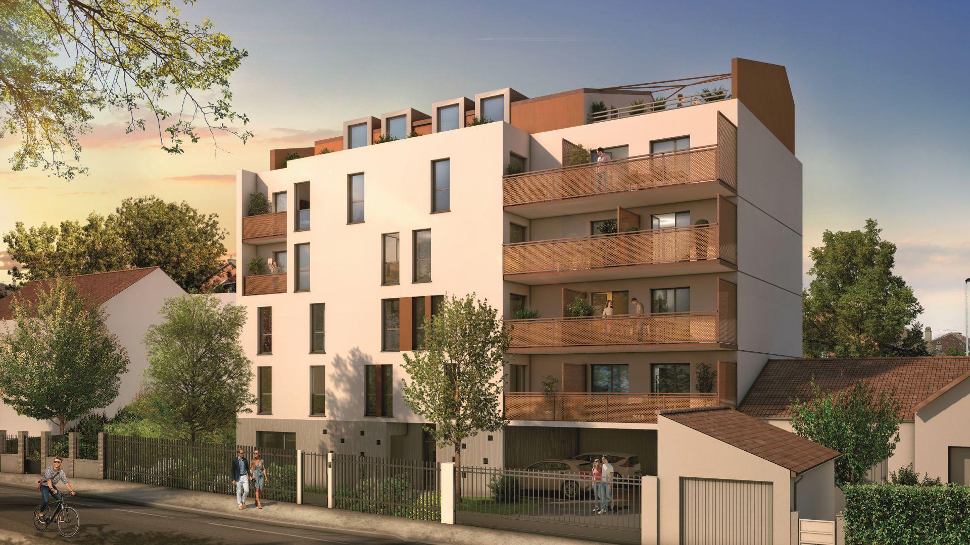 GreenCity immobilier - Sucy en Brie - 94370 - Résidence du Grand val - appartement neuf du T1 au T5