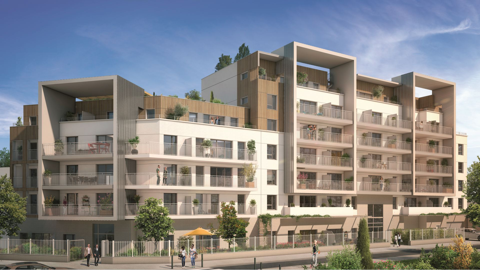 GreenCity immobilier - Champigny sur Marne - 94500 - residence le belvedere - immobilier neuf du T1Bis au T4