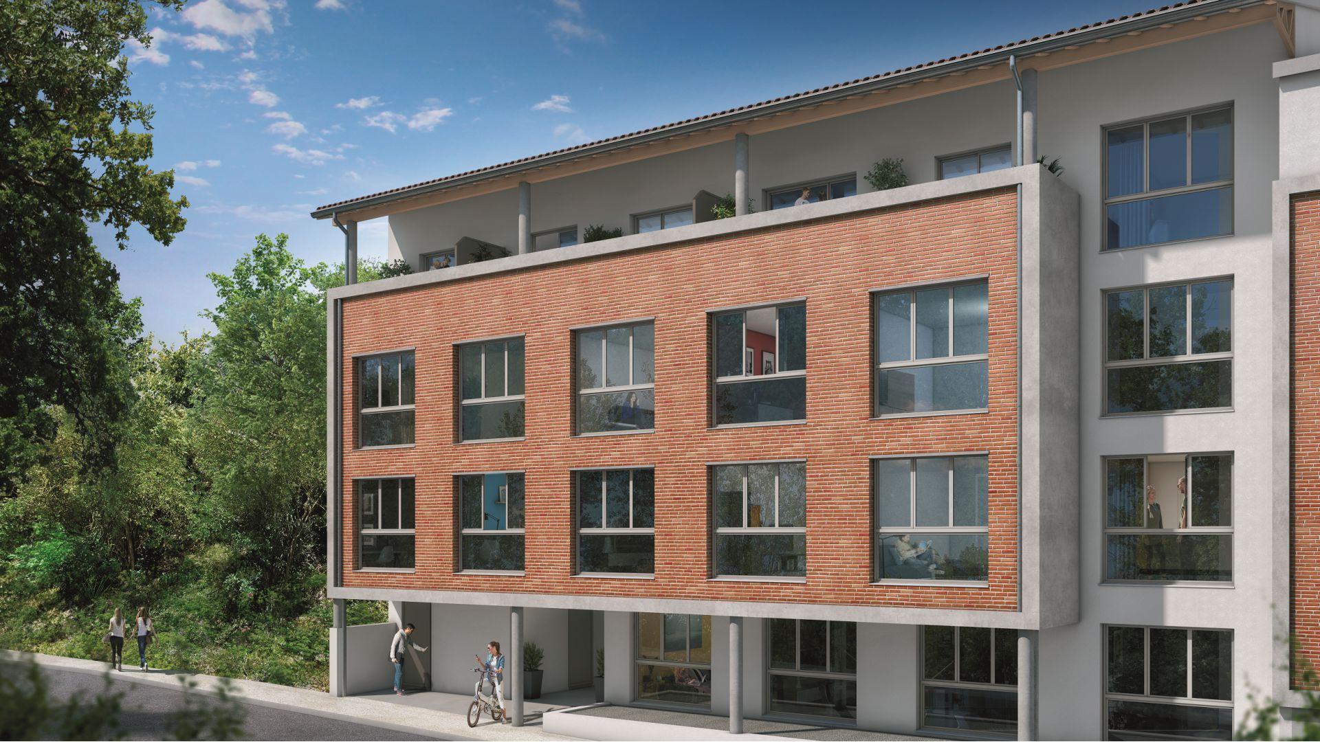 Greencity Immobilier - Résidence Le Soprano - Castanet-Tolosan 31320 - appartements neufs du T1 au T2