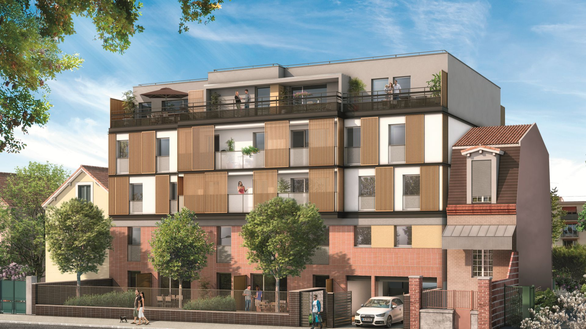 Residence poincare green city immobilier for Residence immobilier