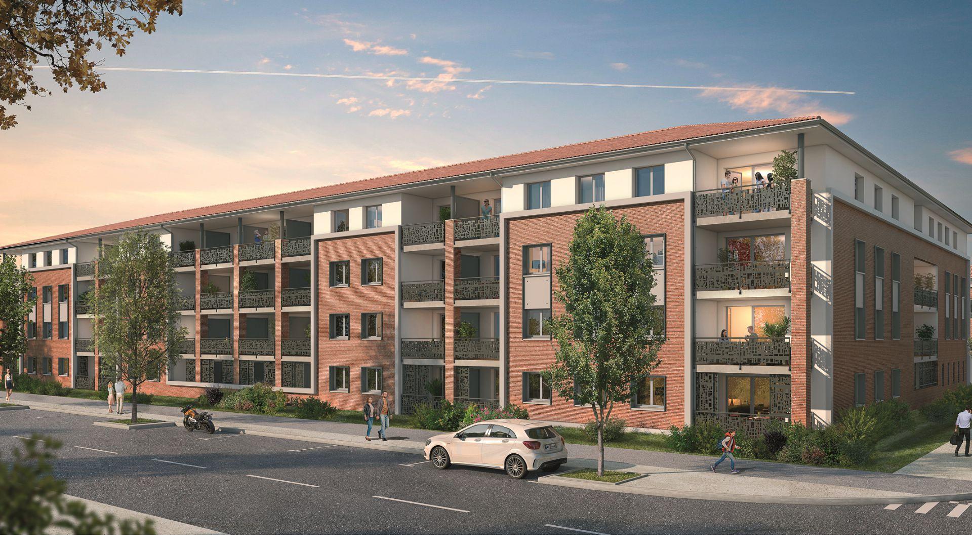 GreenCity immobilier - Plaisance du Touch - 31830 - Résidence Sylvia - appartements neufs du T2 au T4