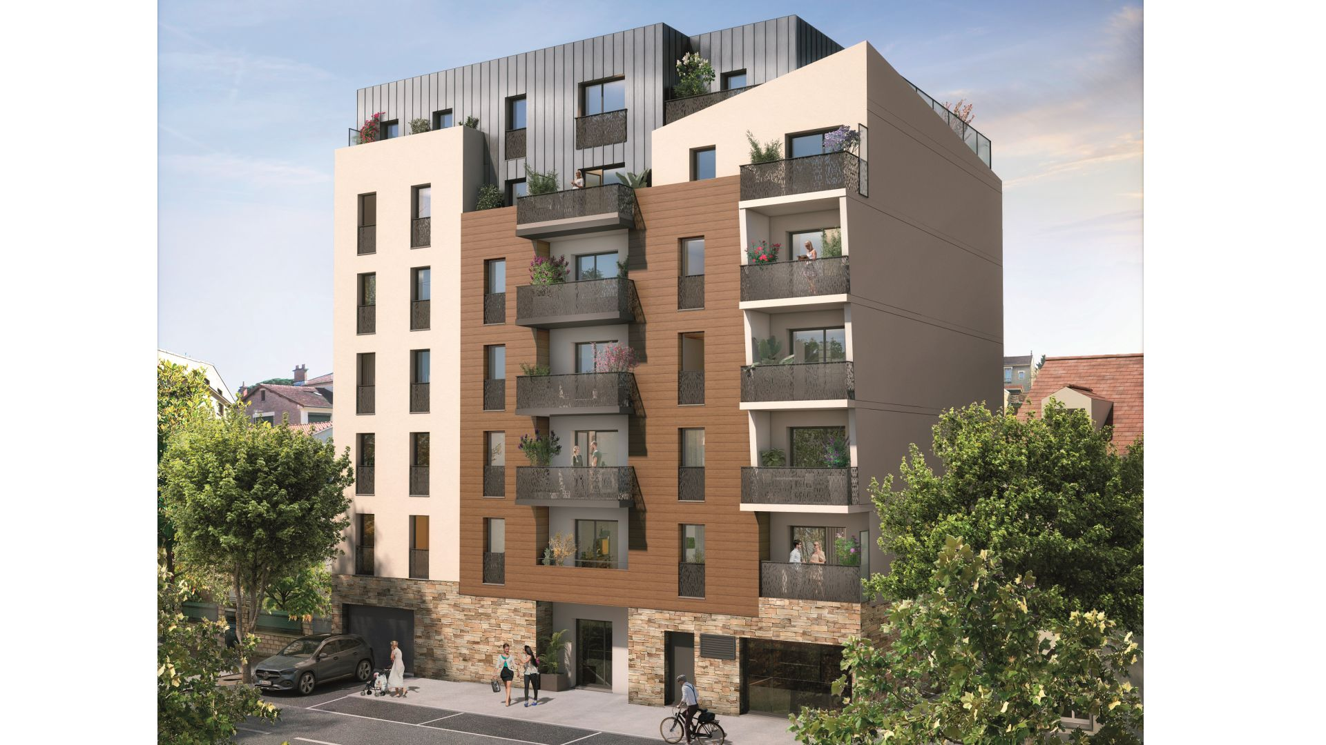 Greencity Immobilier - Résidence Silver Park - achat appartements du T2 au T4 - Le Perreux sur Marne 94170